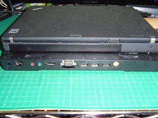 ウルトラベースX200背面端子。