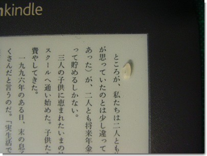Kindle3でB5ビジネス書