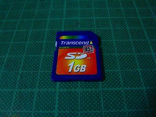 Transcend SD 1G(x45)